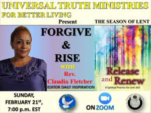 """Forgive and """"Rise with Rev. Claudia Fletcher"""